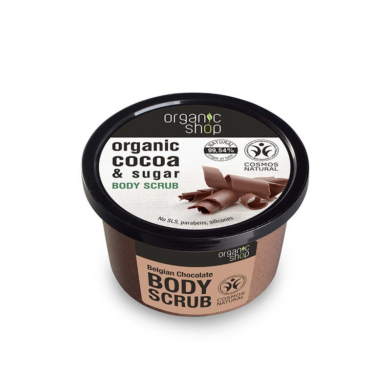 Organic Shop Organic Belgian Chocolate & Sugar Body Scrub