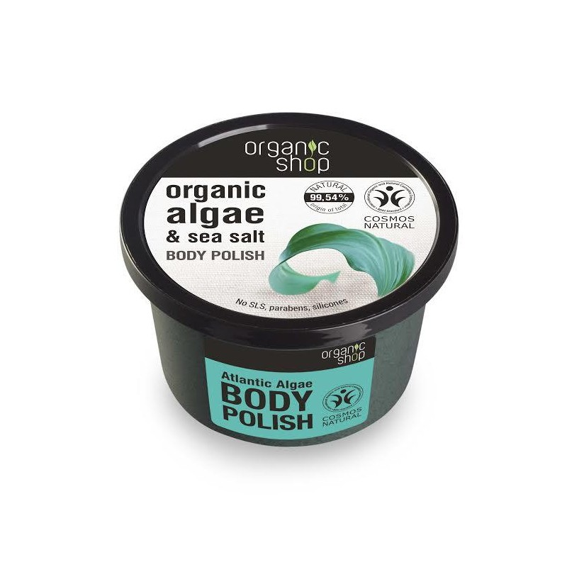 Organic Shop Organic Atlantic Algae & Sea Salt Body Polish