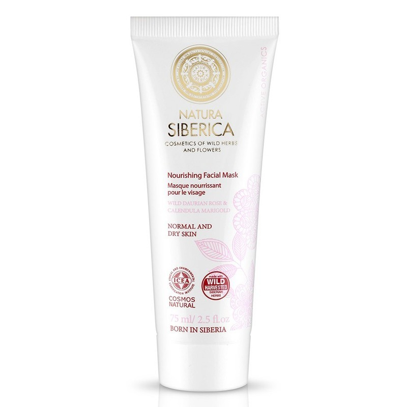 Natura Siberica Nourishing Facial Mask Normal & Dry Skin