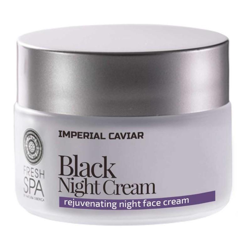 Natura Siberica Imperial Caviar Rejuvenating Black Night Cream