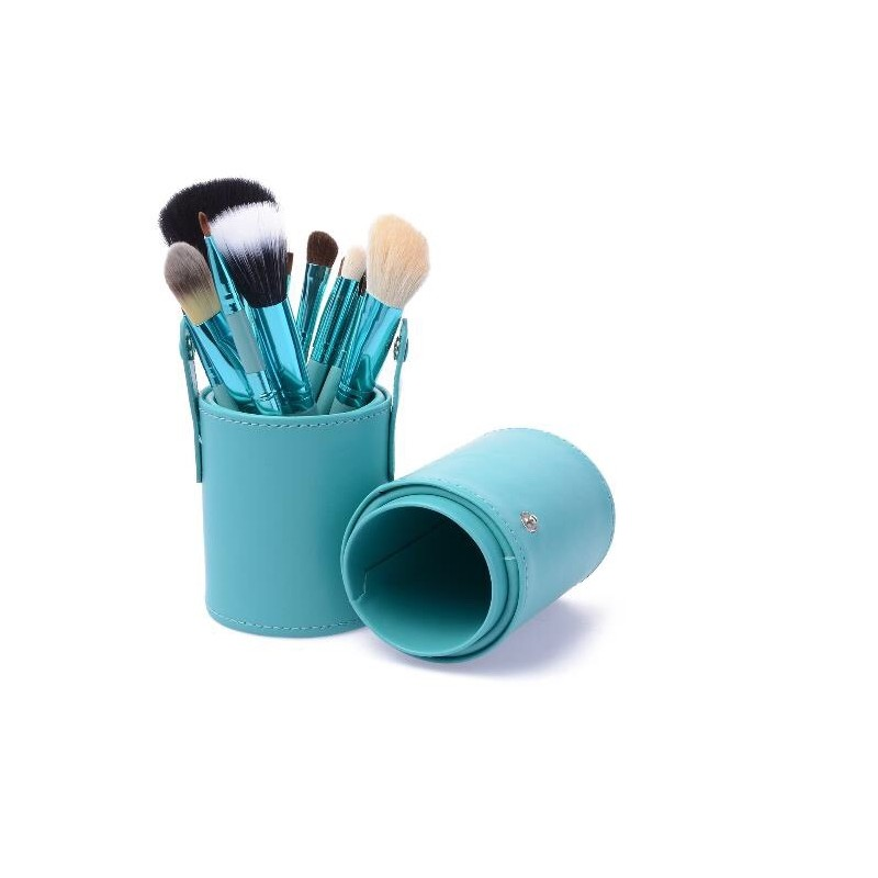 Basics Makeup Brush Set Blue