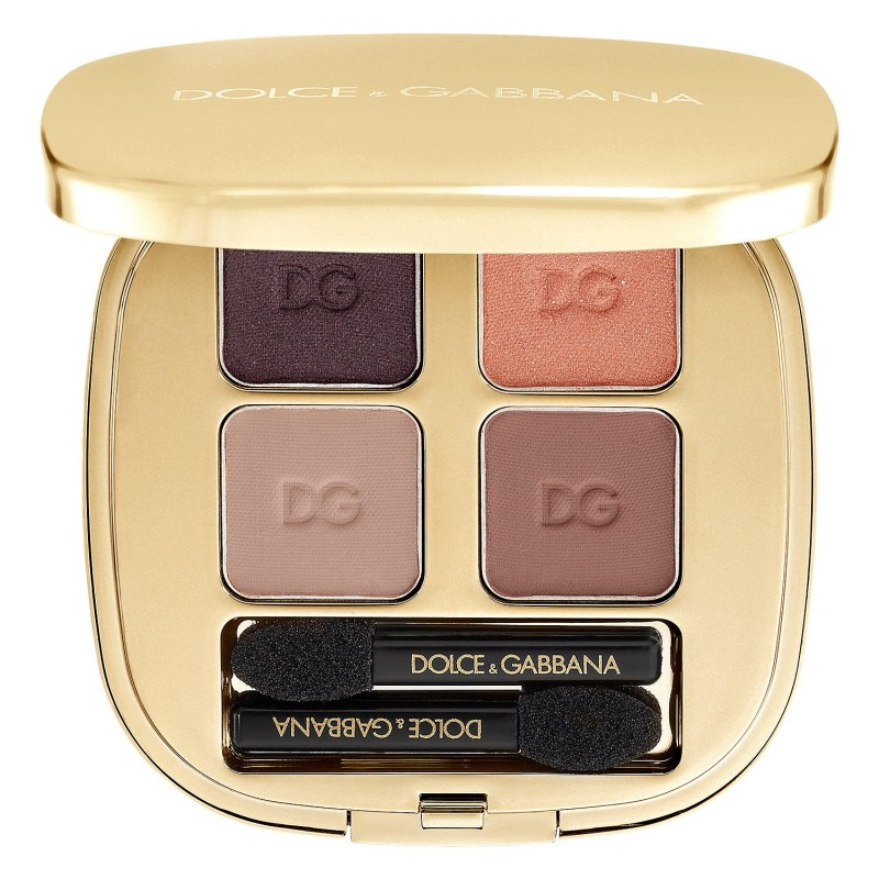 Dolce & Gabbana Smooth Eye Color Quad Eyeshadow 110 Nude
