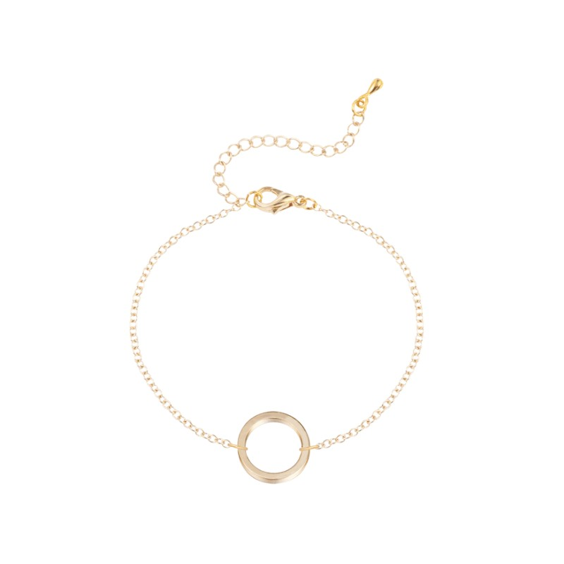 Everneed Kia Circle Bracelet Gold
