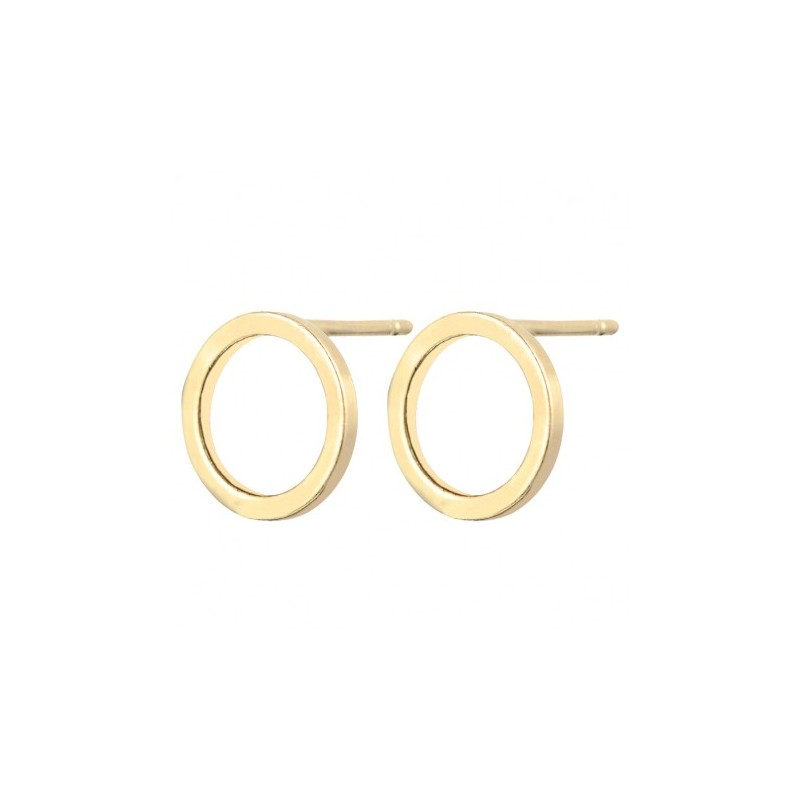 Everneed Baby Smilla Circle Earrings Gold