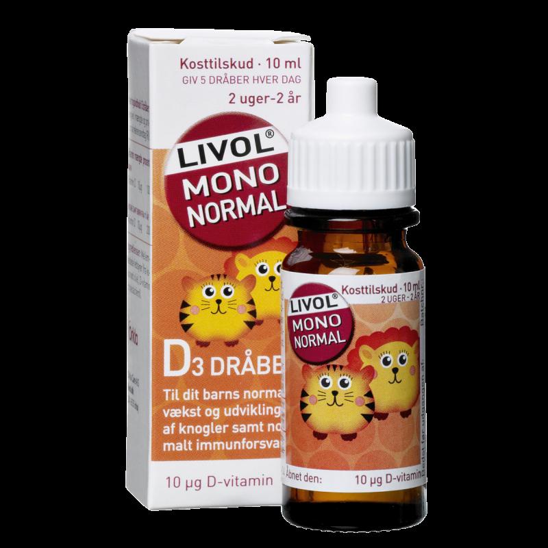 Livol Mono Normal D-Vitamin Drops