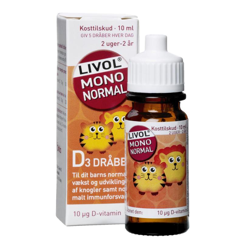 Livol Mono Normal D-Vitamin Dråber