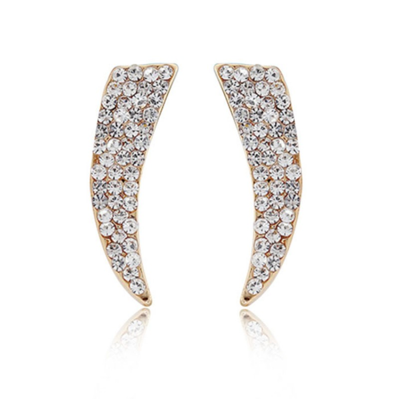 Everneed Melba Zirconia Earrings Gold