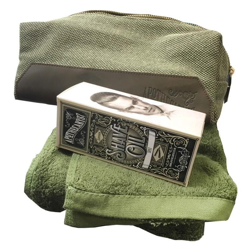 Apothecary87 Dopp Bag Shave Kit