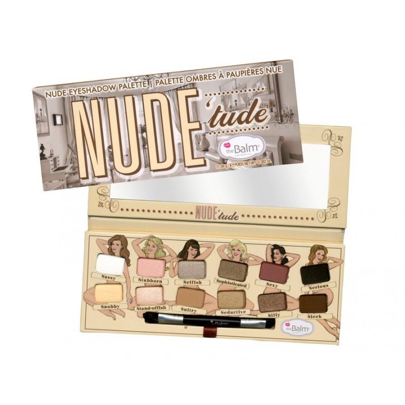 The Balm Nude Tude Naughty Eyeshadow Palette