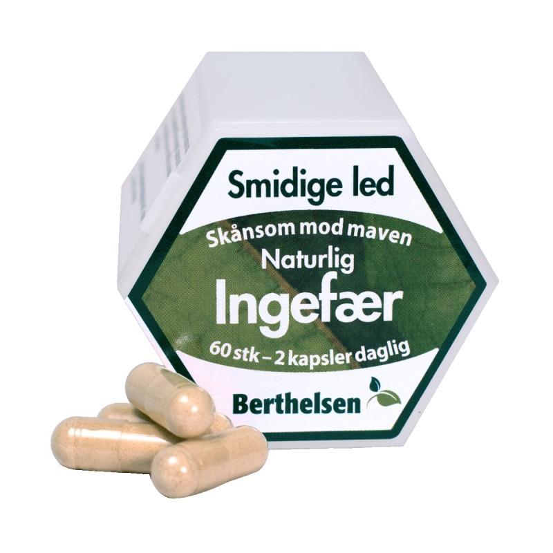Berthelsen Ginger Root 400 mg