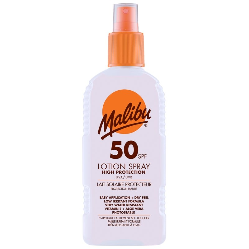 Malibu Sun Lotion Spray SPF50