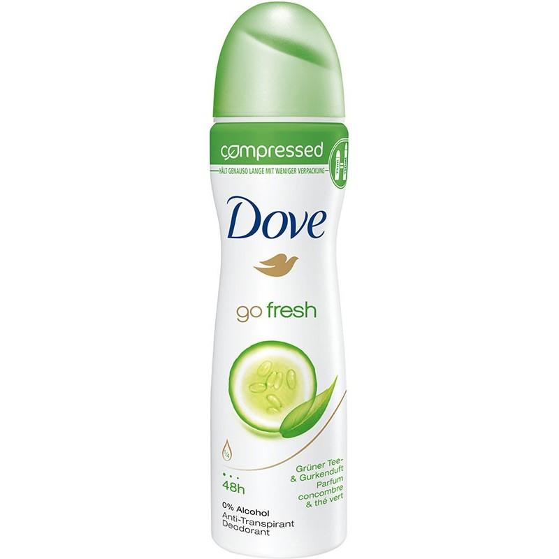 Dove Go Fresh Cucumber Compressed Anti-Perspirant Deospray