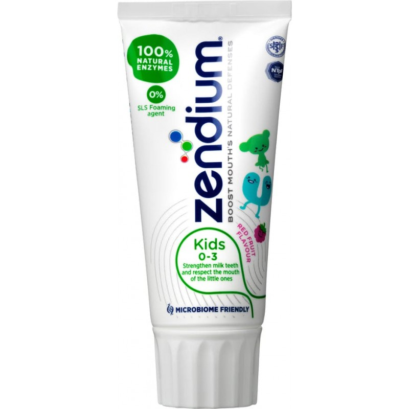 Zendium Kids 0-3 Red Fruit Flavour