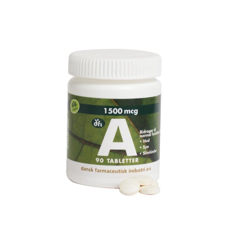 DFI A-Vitamiini 1500 mcg