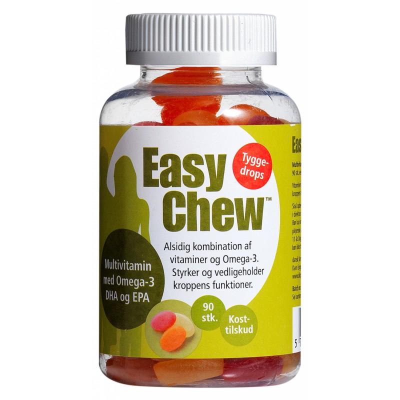 DFI EasyChew Multivitamin + Omega-3