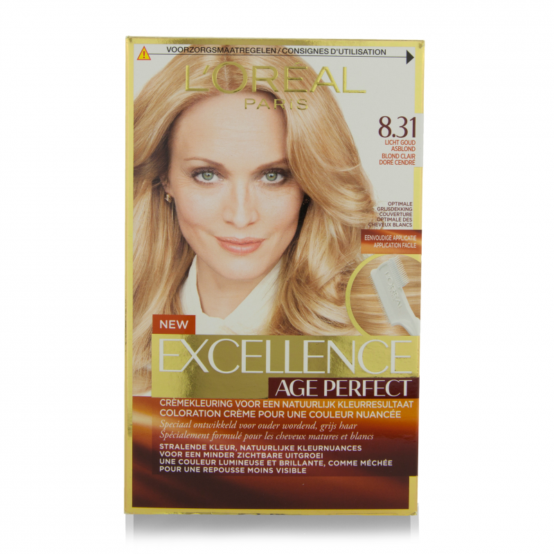 L\'Oreal Excellence Age Perfect Hair Color 8.31 1 pcs - £4.25