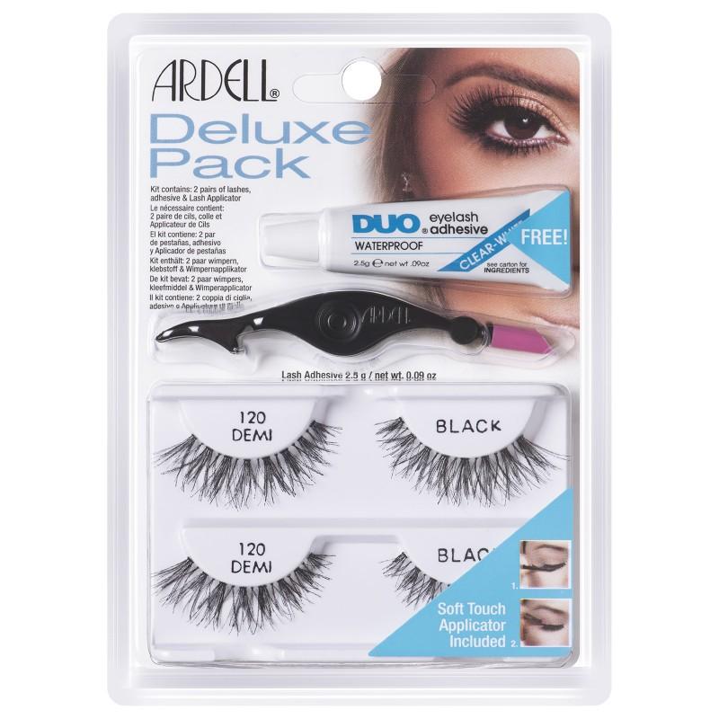Ardell Eyelash Deluxe Pack 120 Demi Black