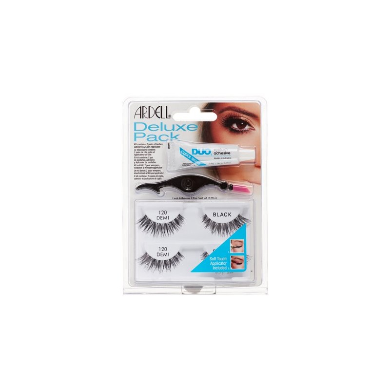 Ardell Eyelash Deluxe Pack 120 Demi Black