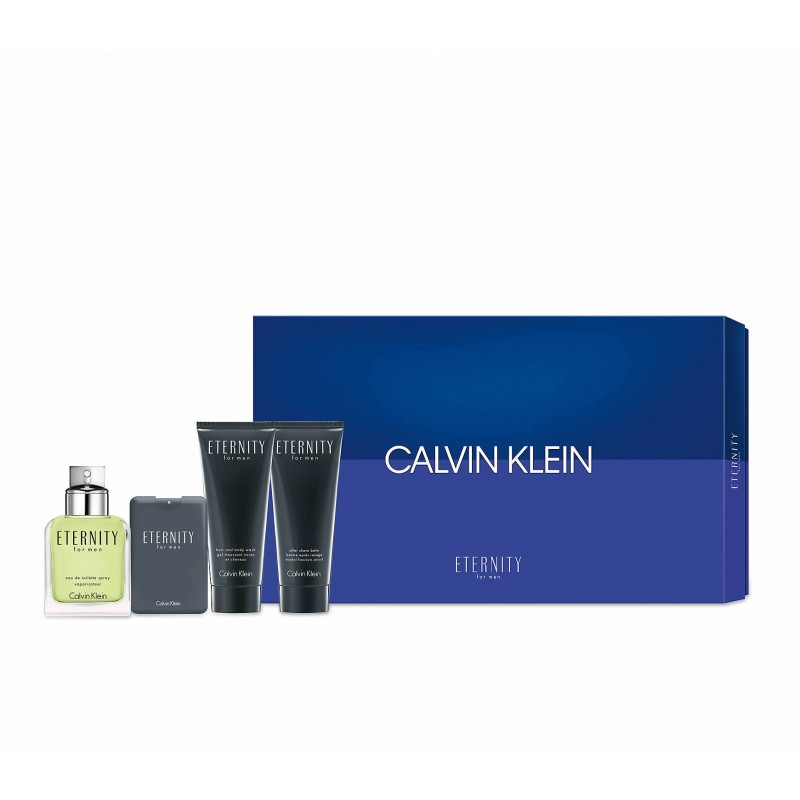 Calvin Klein Eternity Men EDT & Aftershave Balm & Shower Gel