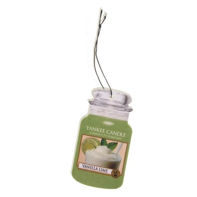 Yankee Candle  Car Jar Vanilla Lime Air Freshener