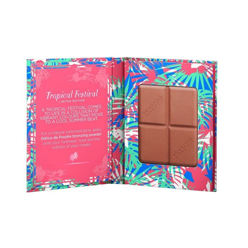 Bourjois Delice De Poudre Bronzing Powder Tropical Festival Limited Edition