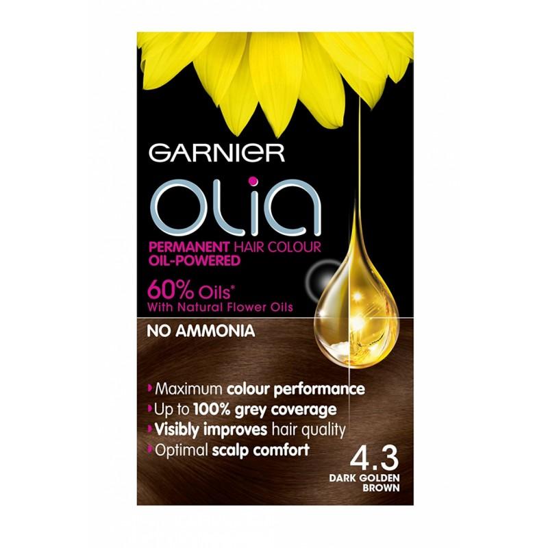 Garnier Olia 4.3 Dark Golden Brown
