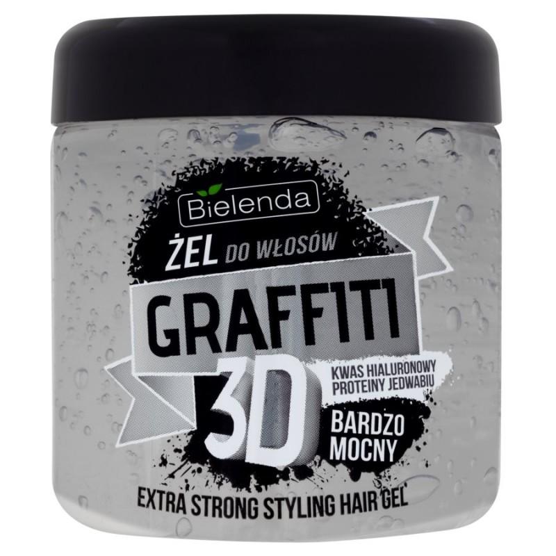 Bielenda Graffiti 3D Extra Strong Hair Gel