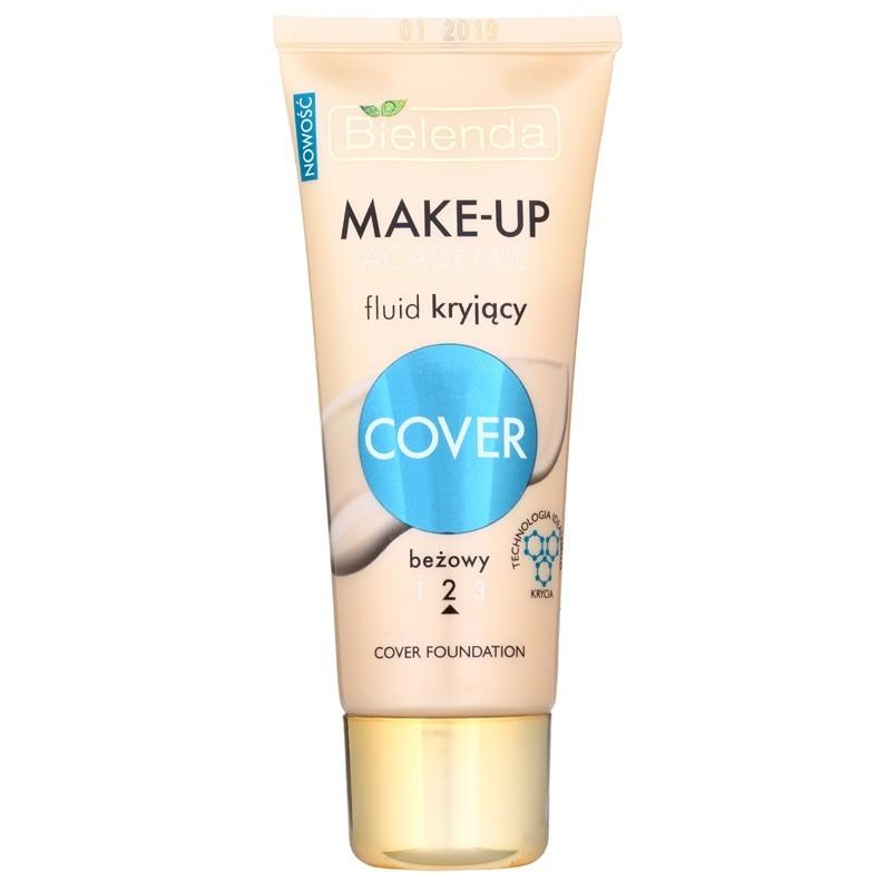 Bielenda Make-Up Academie Cover Foundation 2 Beige