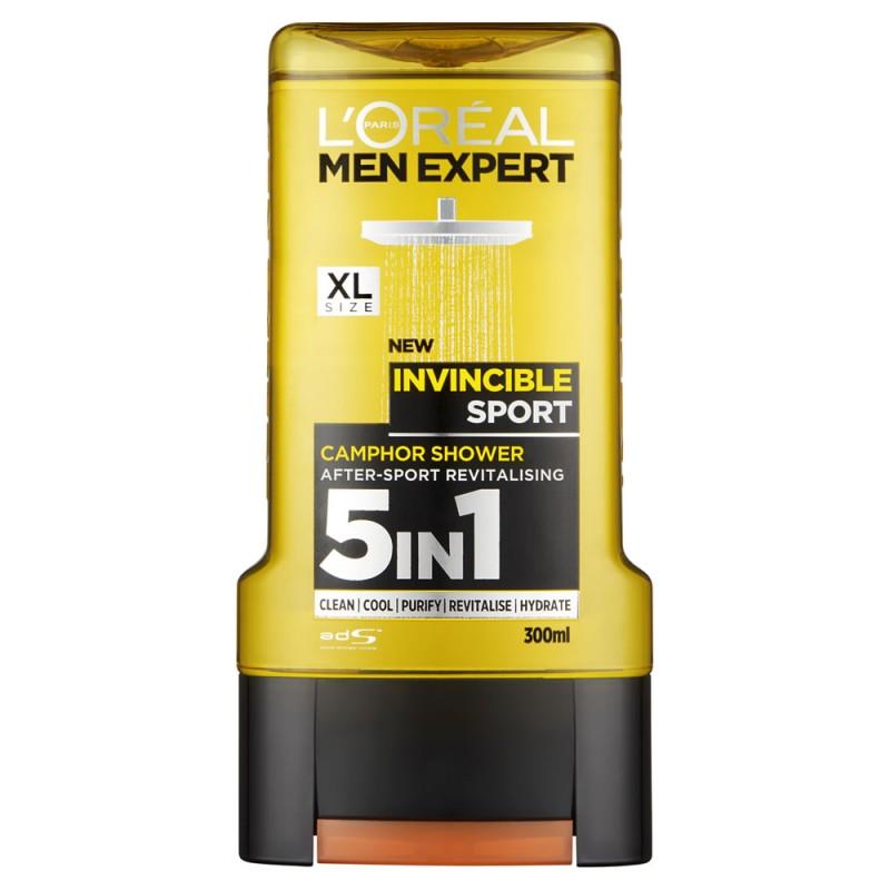 L'Oreal Men Expert 5in1 Shower Gel Invincible Sport