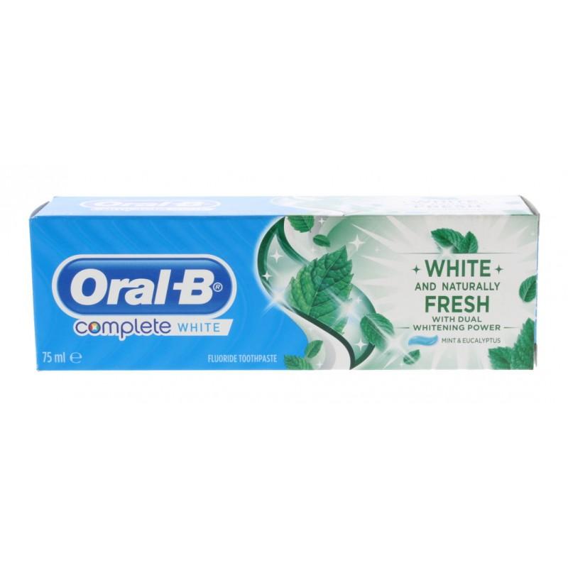 Oral-B Complete White & Fresh Mint & Eucalyptus Tannkrem