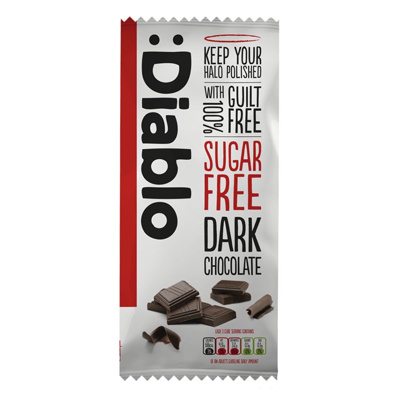 Diablo Sugar Free Dark Chocolate
