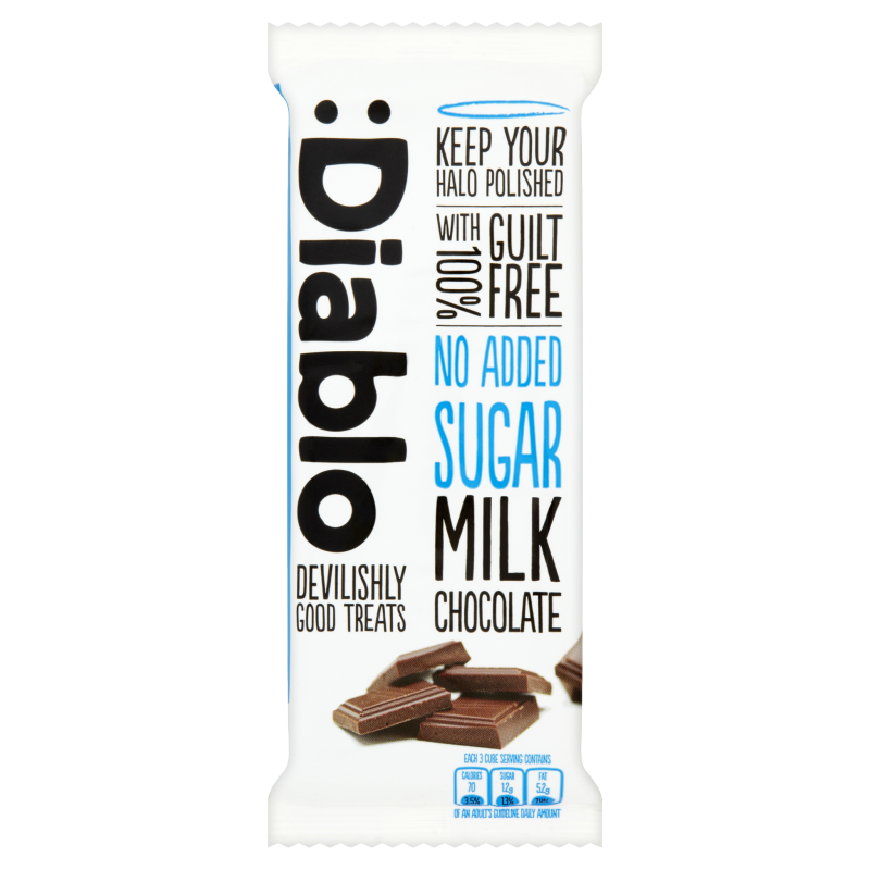 Diablo Sugar Free Milk Chocolate