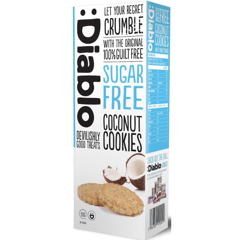 Diablo Sokeriton Coconut Cookies