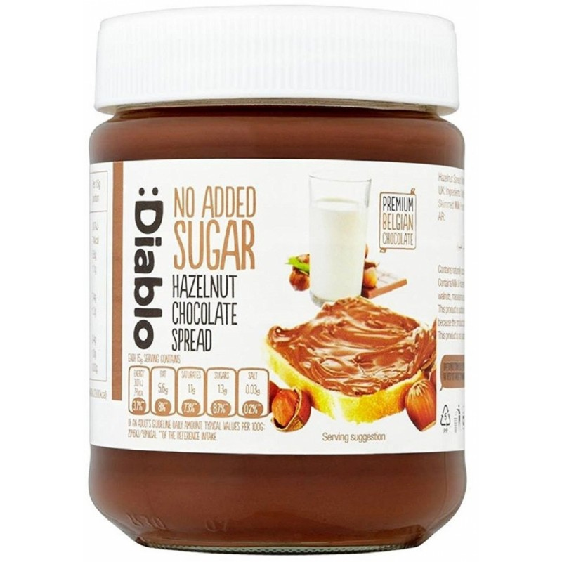 Diablo Sugar Free Hazelnut & Chocolate Spread