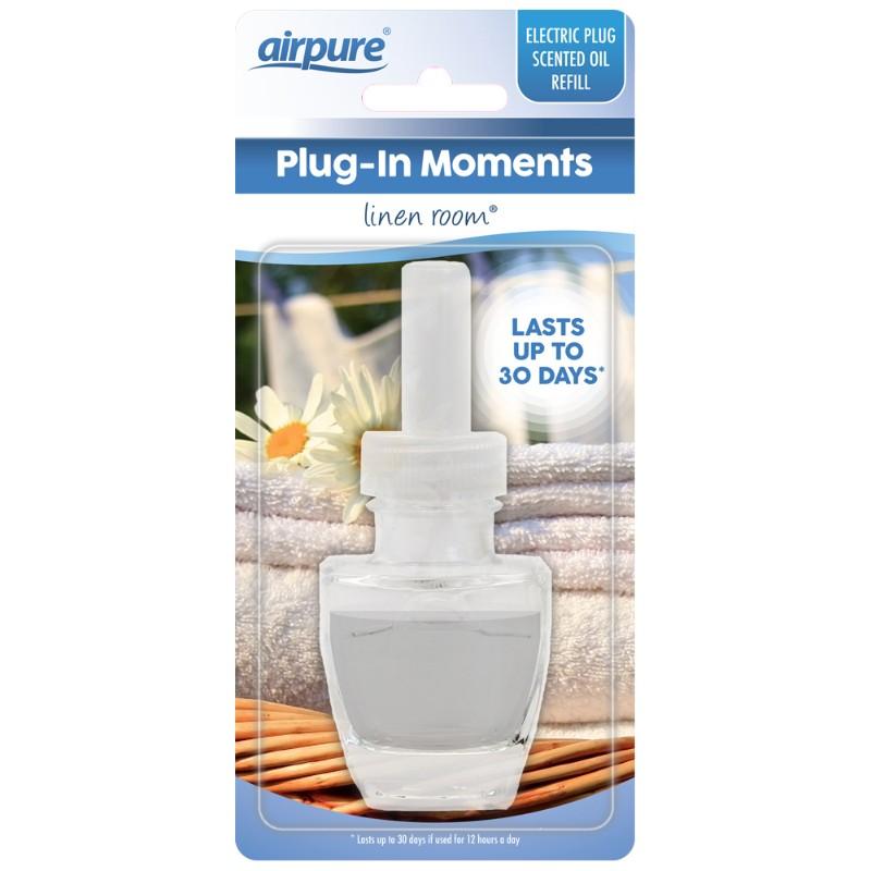 Airpure Plug-In Moments Täyttöpullo Linen Room
