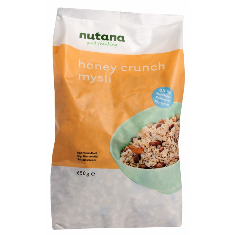 Nutana Honey Crunch Mysli