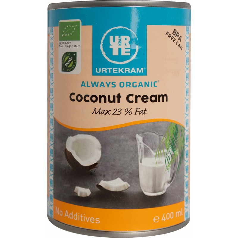 Urtekram Coconut Cream Luomu