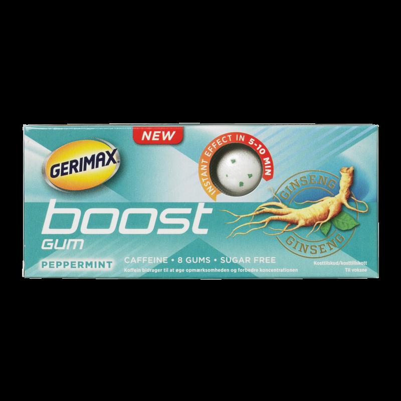 Gerimax Instant Boost Energy Tyggegummi Peppermint