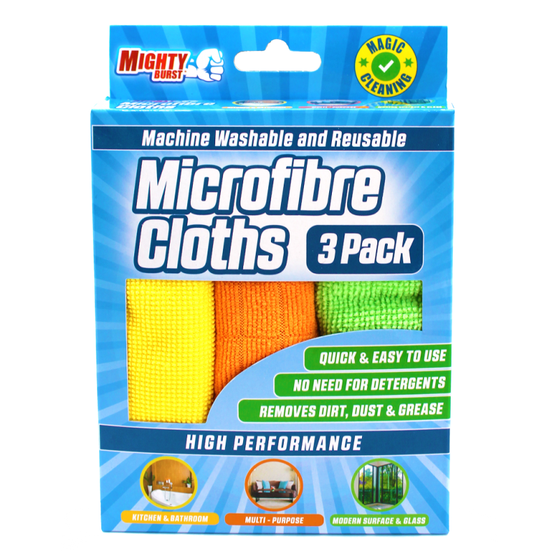 Mighty Burst Microfibre Cloths
