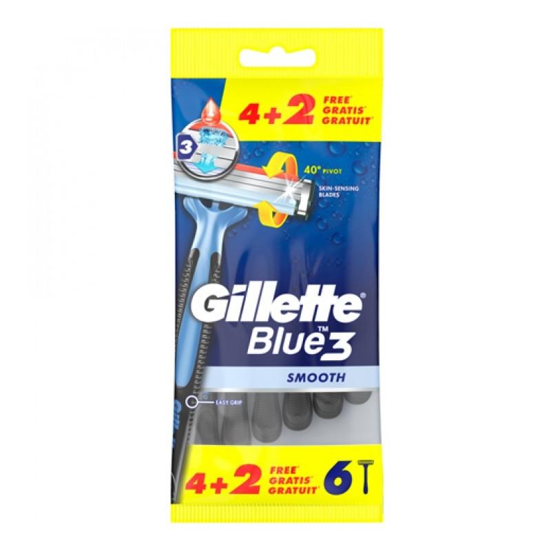 Gillette Blue3 Disposable Black Razors