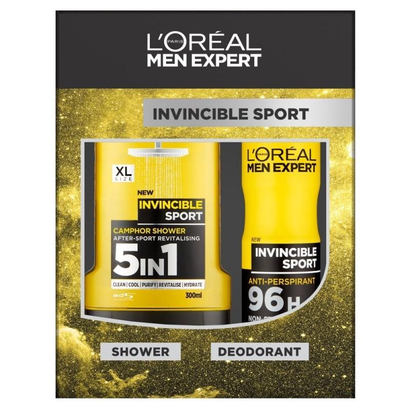 L'Oreal Men Expert Invincible Sport Shower Gel & Deospray