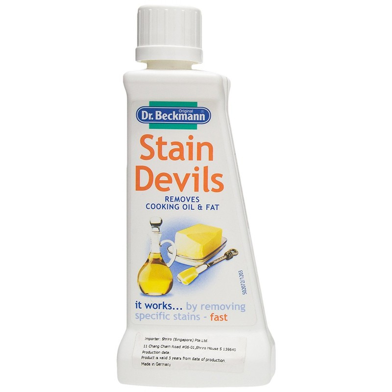 Dr. Beckmann Stain Devils Cooking Oil & Fat