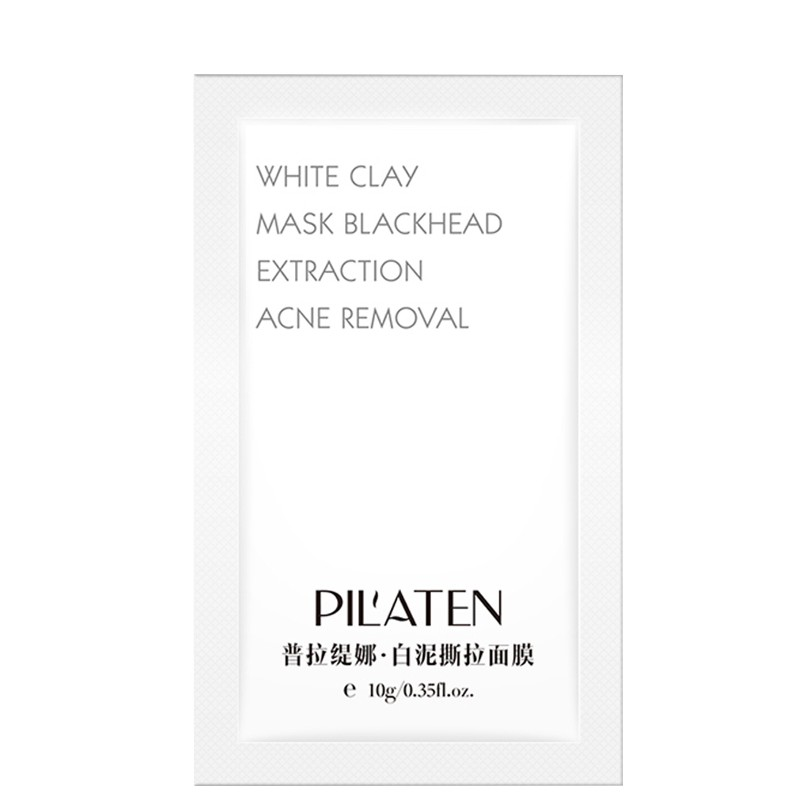 Pilaten White Clay Blackhead Mask Anti-Mitesser