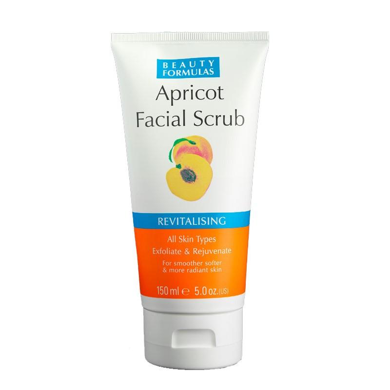 Beauty Formulas Revitalising Apricot Facial Scrub