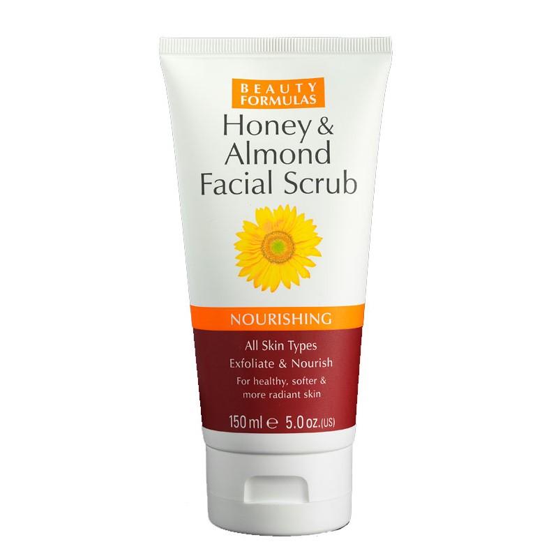 Beauty Formulas Nourishing Honey & Almond Facial Scrub