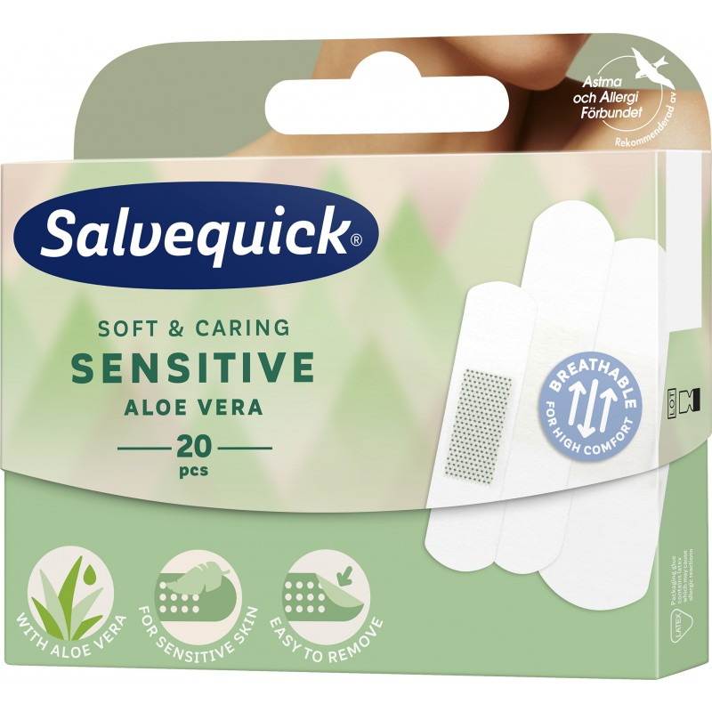 Salvequick Aloe Vera Sensitive
