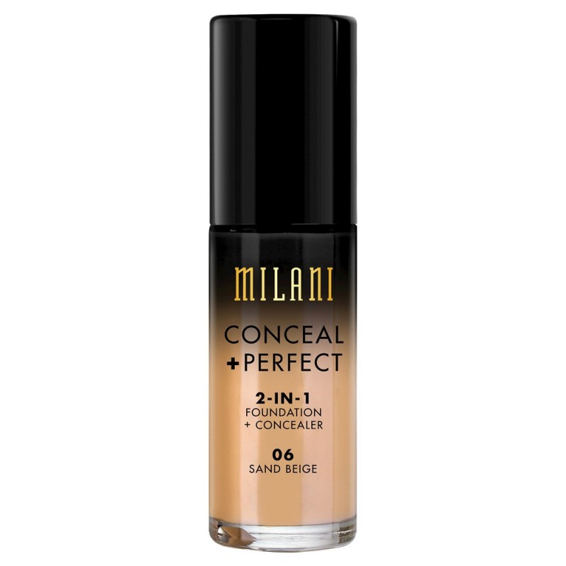 Milani Conceal + Perfect 2in1 Foundation + Concealer 06 Sand Beige