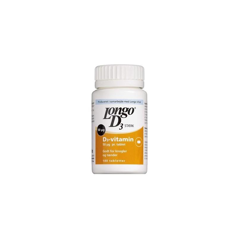 Longo D3 Vitamin Stærk