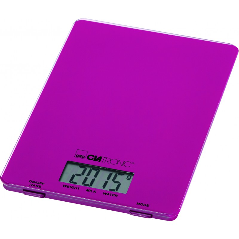 Clatronic KW 3626 Kitchen Scale Blackberry