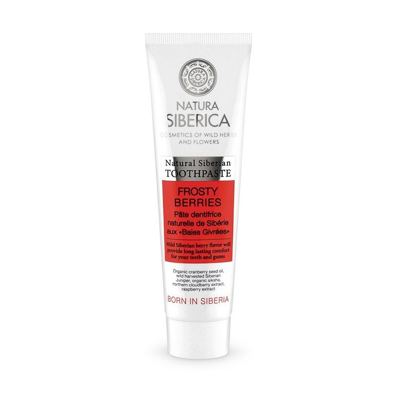 Natura Siberica Frosty Berries Toothpaste